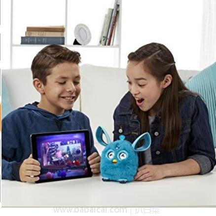 亚马逊海外购:Furby Connect 菲比精灵 电子宠物玩具 特价¥137.23,直邮免运费,含税到手新低¥153