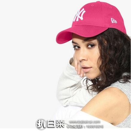 英国Get The Label官网:New Era 纽约扬基队 9Forty 可调节棒球帽 特价£10.39,用码6折新低£6.23(¥55),凑单直邮到手超便宜,