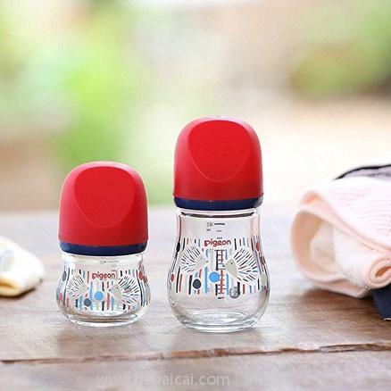 日本亚马逊:Pigeon贝亲 母乳实感奶瓶 80ml/160ml 两色可选 特价2592/2686日元(¥158)