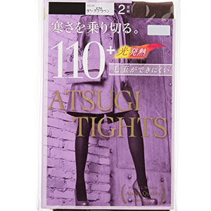 日本亚马逊:日本原产 ATSUGI 厚木 TIGHTS 110D发热天鹅绒连裤袜 2双装*3盒(6双) 现1284日元,领券85折,实付新低1091日元日元(¥67)