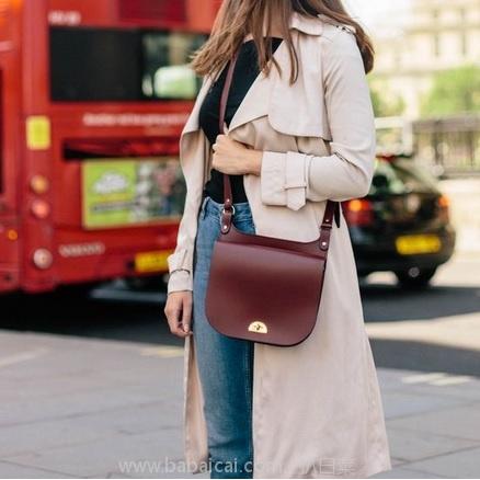 Mybag:THE CAMBRIDGE SATCHEL 女士真皮单肩包 现£120,用码4折新低£48,直邮包邮到手仅¥538,时尚、百搭,三色可选!