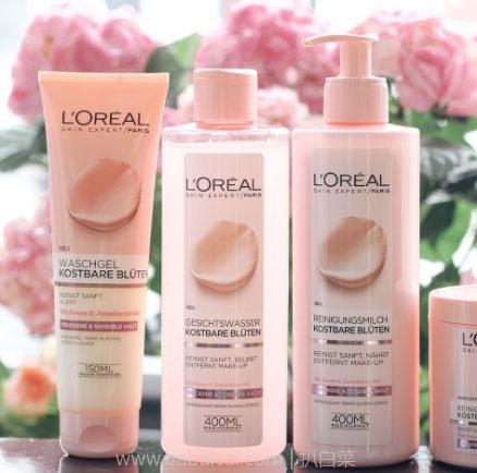 Perfume's Club中文网:L'Oréal 欧莱雅 玫瑰茉莉花净透卸妆水 400ml 凑单折后价€4.4(约35元),叠加满减