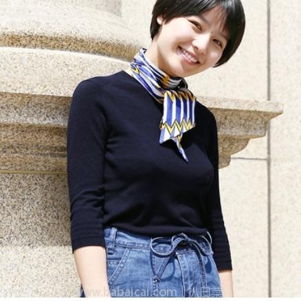 网易严选:100%真丝玩彩波纹飘带 丝巾120×10cm 限时特价¥34.5,三色可选