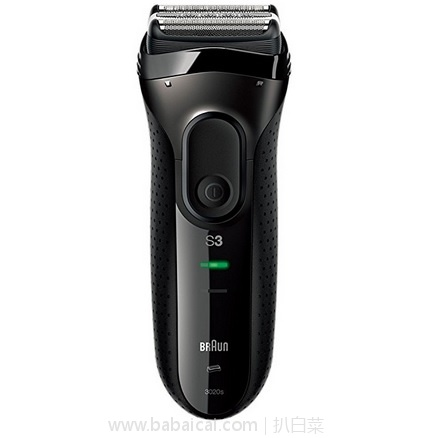 亚马逊海外购:Braun 博朗 3020s-B干湿两用充电式电动剃须刀 降至¥237.61,直邮免运费,含税到手历史新低仅¥266
