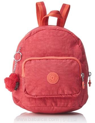 亚马逊海外购:Kipling 吉普林 Munchin 女士 活力 粉橙色款 双肩背包 降至¥2108.87,凑单免费直邮,含税到手¥234