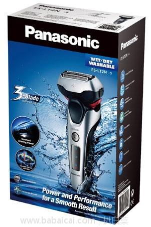 亚马逊海外购:Panasonic 松下 ES-LT2N 干湿两用电动剃须刀 降至¥388.08,直邮免邮,含税到手¥430.54