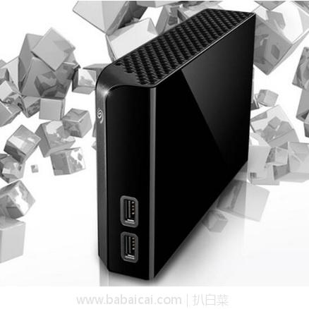 亚马逊海外购:seagate 希捷 6TB 桌面式硬盘HUB 降至¥762.96,直邮免运费,含税到仅¥855