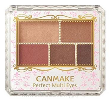 日本亚马逊:Canmake 平价香奈儿268 五色眼影03# 降至842日元(¥51)