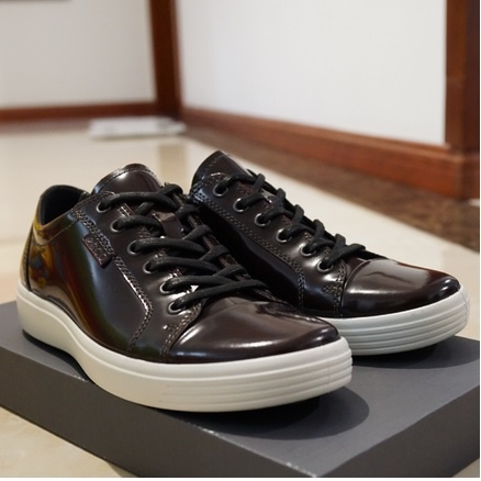 6pm:ECCO 爱步 柔酷7号 男士真皮休闲鞋 原价$180,现新低价$80.99,到手仅¥605