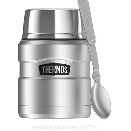 亚马逊海外购:Thermos 膳魔师 King 帝王杯系列 焖烧罐(468ml) 特价¥138.08,凑单直邮免运费,含税到手仅¥154