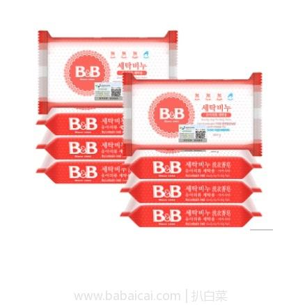 网易考拉海购:B&B 保宁 婴儿洗衣皂 200克/块 洋槐香6块+甘菊香6块 预定价¥88包邮