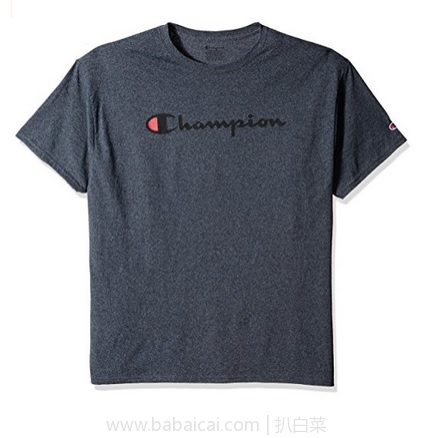 亚马逊海外购:Champion 中性经典logo打底T恤 降至¥78.28起,凑单直邮免运费,含税到手新低¥88