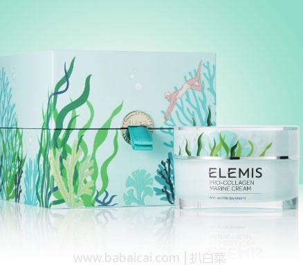 Feelunique:ELEMIS 艾丽美全线买三免一海洋骨胶原面霜 大容量限量版100ml  现折后£73.33,免费直邮到手仅¥664元