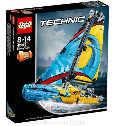 IWOOT:LEGO 乐高 科技机械组 42074 竞赛帆船 特价£19.99(约¥177元),可凑单直邮