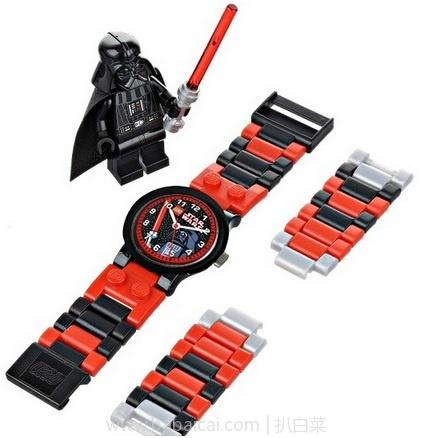 亚马逊海外购:LEGO 乐高 星战系列 达斯维达 儿童手表套装8020301 带光剑公仔 特价¥92.9,凑单免费直邮,含税到手¥104