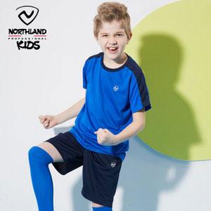 天猫商城:NORTHLAND 诺诗兰 春夏新款儿童运动速干圆领套装(120~170) 3色可选,现价¥99,领取¥30优惠券,实付¥69包邮