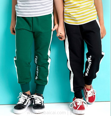 天猫商城:小羊肖恩 中大童全棉春夏款运动裤 多色 现价¥49,领取¥10优惠券,实付¥49包邮