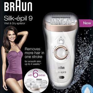 亚马逊海外购:Braun 博朗 Silk-épil 9-561 干湿两用脱毛器 降至¥552.32,免费直邮,含税到手仅¥614