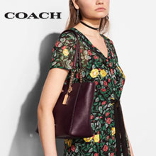 6PM:COACH 蔻驰 Turnlock Chain 27 女士单肩包  降至4折$118,到手¥880元