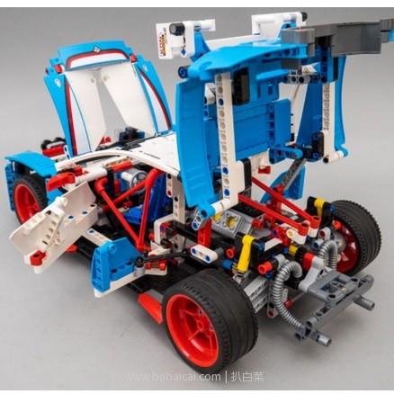 the Hut:18年新款,LEGO 乐高 Technic机械组 42077 拉力赛车 降至£79.99,直邮包邮到手仅¥688