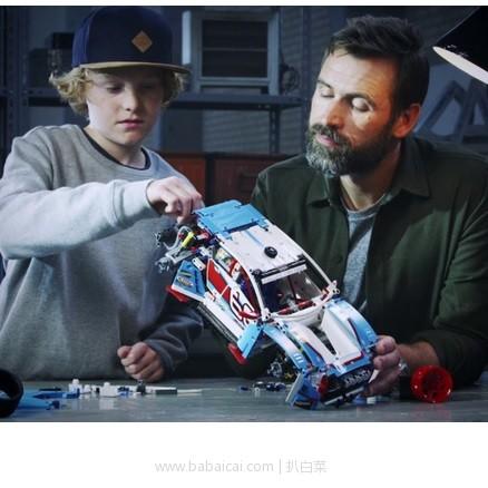 the Hut:18年新款,LEGO 乐高 Technic机械组 42077 拉力赛车 用码实付£64.99,直邮包邮到手新低仅¥559