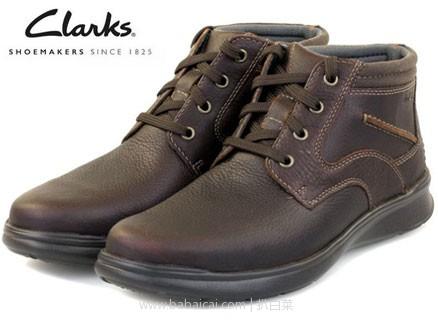 亚马逊海外购:Clarks 其乐 男士真皮健步休闲短靴 价降至¥289.61起,免费直邮,含税到手新低¥322