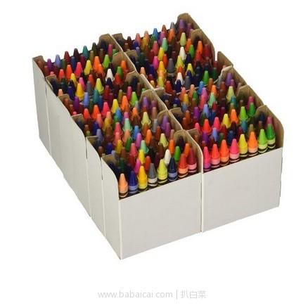 亚马逊海外购:Crayola绘儿乐 混色蜡笔 72色 288支装 降至¥129.38,凑单免邮,含税到手约¥141.05