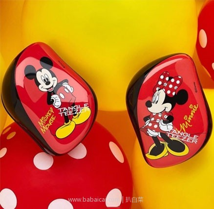 Feelunique中文官网:Tangle Teezer 限量迪士尼米老鼠款 便携款美发梳  双重优惠折后£7.2(约¥65元)