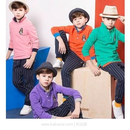 当当网:Hush Puppies 暇步士童装旗舰店 会员狂欢购 精选童装3件3折或每满¥200-100
