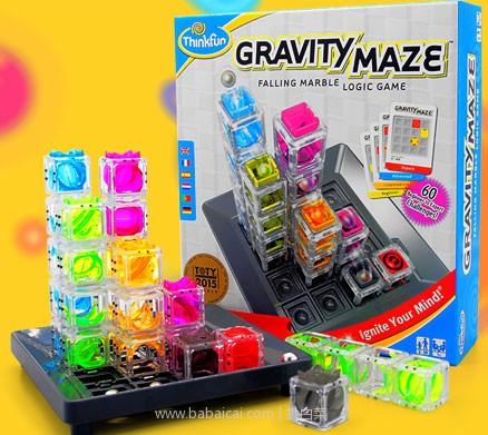 天猫商城:Think Fun 益智玩具 3D重力迷宫 送笔记本+橡皮擦+3颗钢珠+礼品袋 现¥255,领80券,实付¥175包邮
