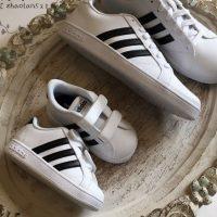 ebay:Adidas 阿迪达斯 官方店3件额外7折专场!Baseline小童款魔术贴 休闲鞋 现$19,折后新低$13.3,到手约¥150