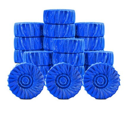 京东商城:宣室堂 蓝泡泡马桶清洁剂 20枚 特价¥14.9,领券减¥5实付¥9.9包邮