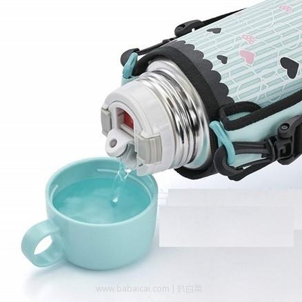 亚马逊海外购:新款 TIGER 虎牌 MBO-G050 不锈钢双盖两用保温杯/壶 500ml 现¥120.3,凑单直邮免运费,含税到手仅¥134