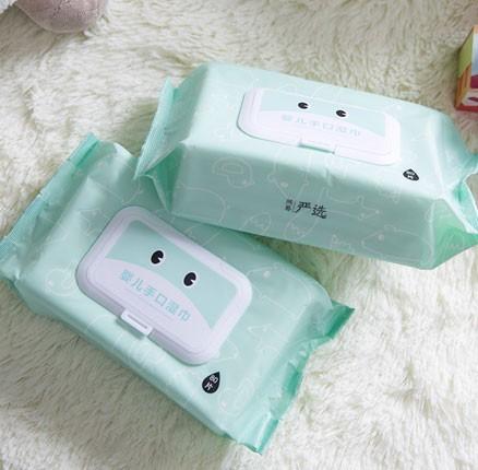 网易严选:带盖无香无酒精婴儿手口湿巾 80抽*12包 特价¥70.5
