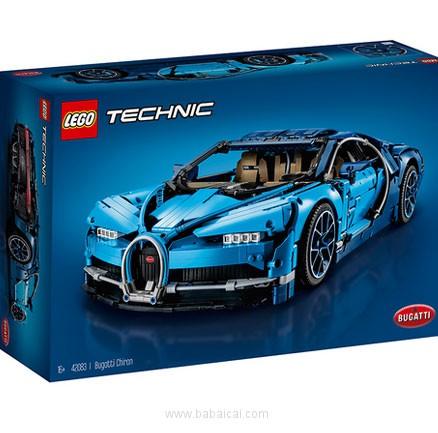 IWOOT:LEGO 乐高 Technic 科技系列 42083 布加迪奇龙(共包括3599个颗粒) 降至£219.99,免费直邮到手¥1895元