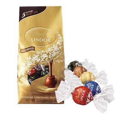 网易考拉海购:瑞士莲软心巧克力600g 5味装 约50粒x2袋特价¥179包邮包税