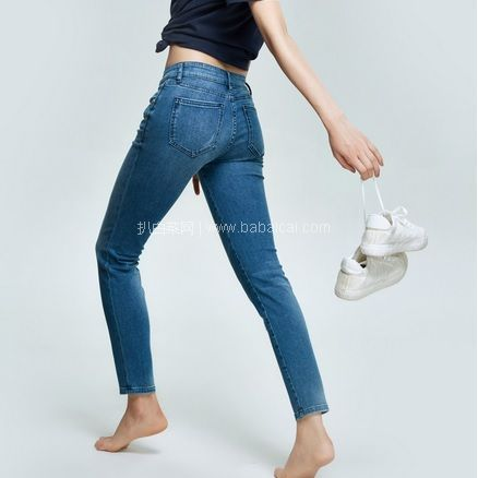 网易考拉海购:网易严选 每满¥188-100专场好价很多!女式天丝棉弹小脚牛仔裤 3色 现¥189,下单减¥100,实付史低¥89包邮