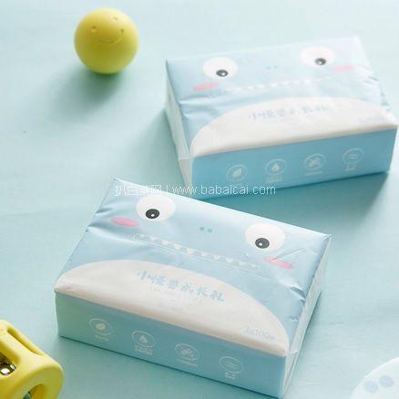 网易严选:婴儿超柔乳霜纸巾 100抽*12包 限时特价¥55.2