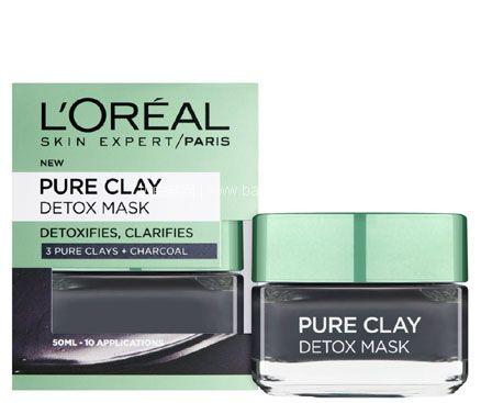 亚马逊海外购:L'Oréal Paris 欧莱雅 矿物净化泥净肤面膜 50ml 现¥45.44,凑单免费直邮,含税到手¥57