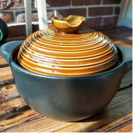 网易严选:新低!拾光系列 陶瓷煲 多规格可选 还送1储物罐 限时特价¥99起