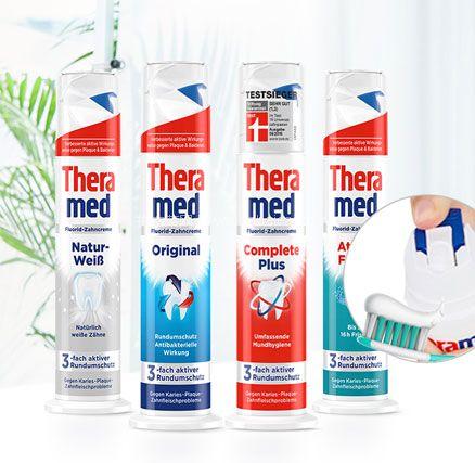 网易考拉海购:德国 Theramed 泰瑞美 立式牙膏 100ml*4支 拼购特价¥39.9包邮