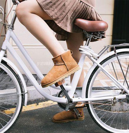网易严选:经典款 女士 短筒皮毛一体雪地靴  史低¥199包邮