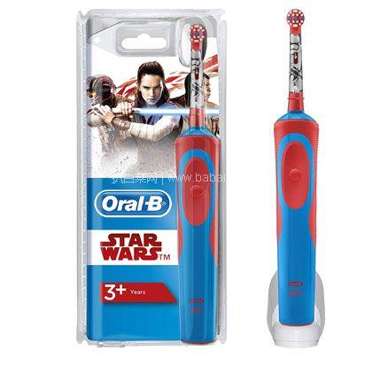 亚马逊海外购:Oral B 欧乐B 星球大战 电动牙刷 降至¥105.79,凑单免费直邮,含税到手仅¥128