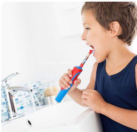 亚马逊海外购:Oral B 欧乐B 可充电式 儿童电动牙刷 降至¥126.03,领券减¥23,凑单免费直邮,含税到手约¥114.5