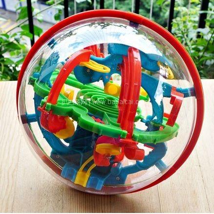 苏宁易购:U.KARGER 优卡家 3D立体迷宫球 100关大号智力球 券后历史低价¥19.9包邮