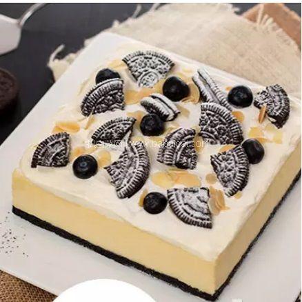 京东商城:贝思客 奥利奥雪域牛乳芝士生日蛋糕2.2磅 拍2件减¥385,实付¥226包邮