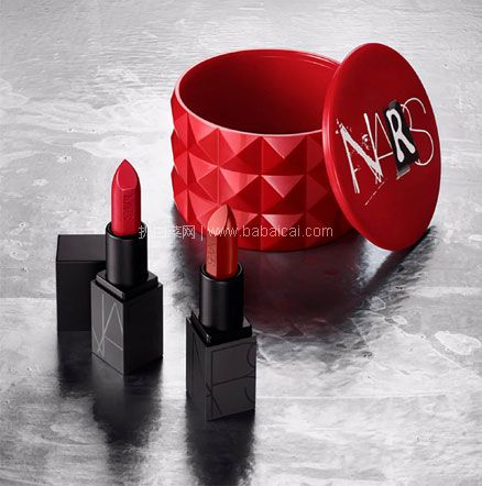 Lookfantastic:补货!NARS Little Fetishes Audacious 唇膏套装 特价£20 (约¥176元)