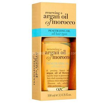 亚马逊海外购:OGX 摩洛哥坚果油护发精油 100ml 现特价¥52.99,凑单免费直邮,含税到手仅¥58