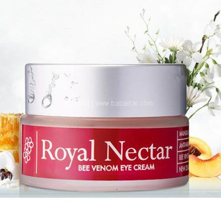 澳洲ChemistDirect中文网:Royal Nectar 新西兰 皇家花蜜蜂毒眼霜 15ml 限时7.6折AU$57.95,约¥140元/瓶
