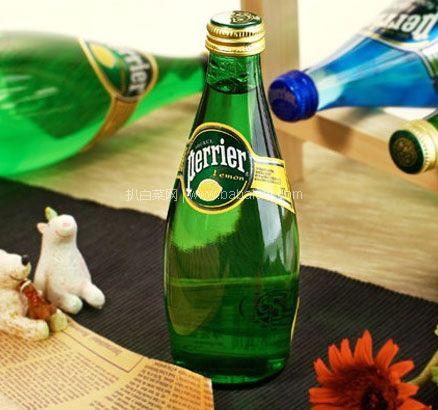 网易考拉海购:高端健康好水!!法国Perrier 巴黎水 含气青柠味饮料 330ml*24瓶 特价¥99 包邮